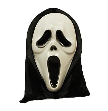 HAAC Máscara Espíritu fantasma Máscara para Halloween Carnaval 35 cm x 20 cm