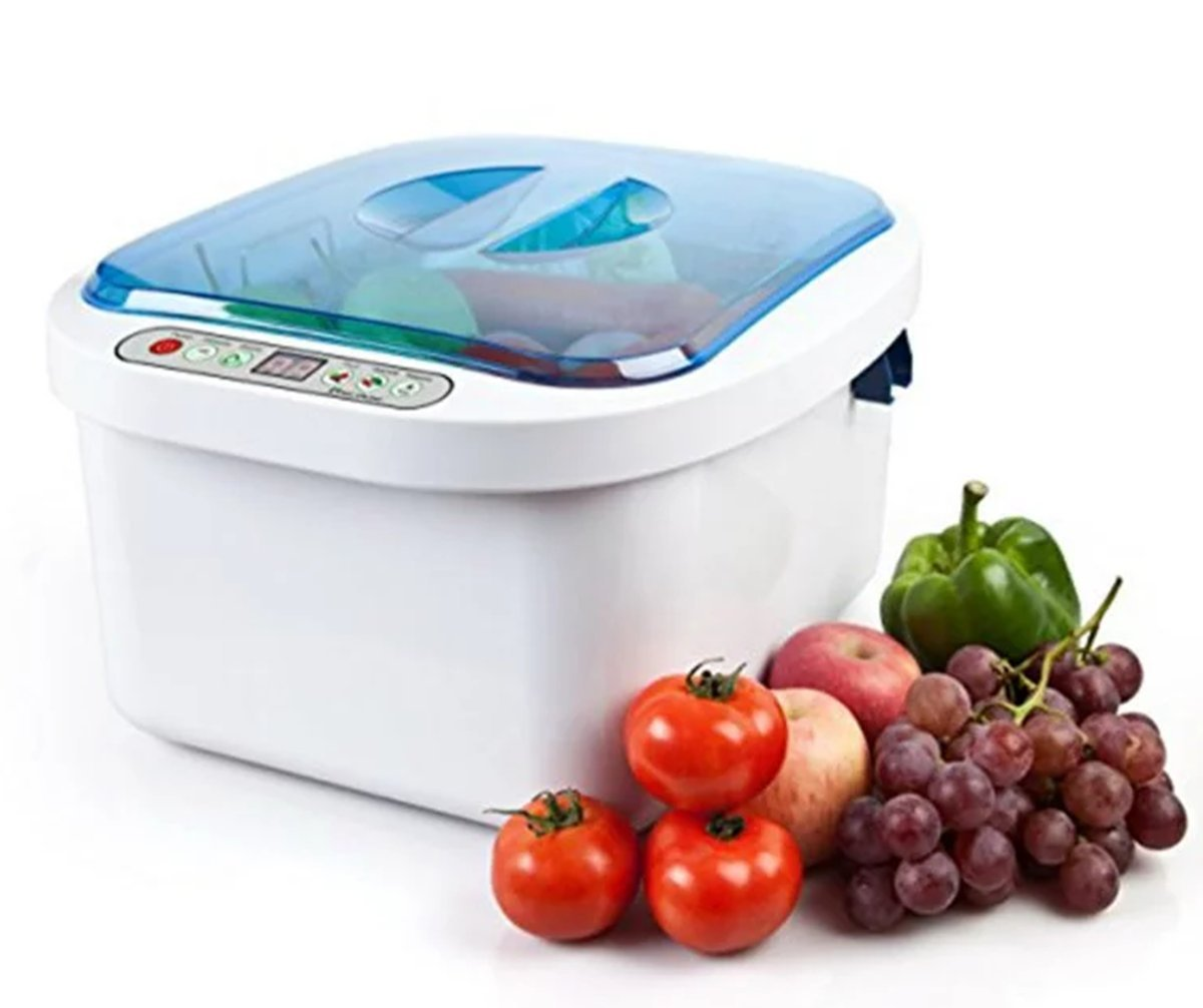 12.8L Home Use Ultrasonic Ozone Vegetable Fruit Sterilizer Cleaner Washer Health by Sololife US STOCK by Sololife (Image #1)