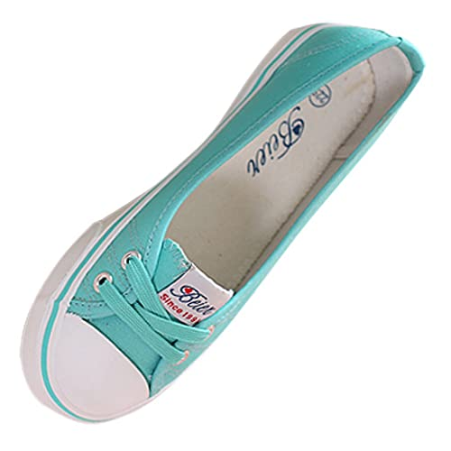 Beier Verano Mujeres Moda Zapatillas Mujer Zapatillas Deportivas Zapatos de Lienzo Zapatos de Las Mujeres Pisos