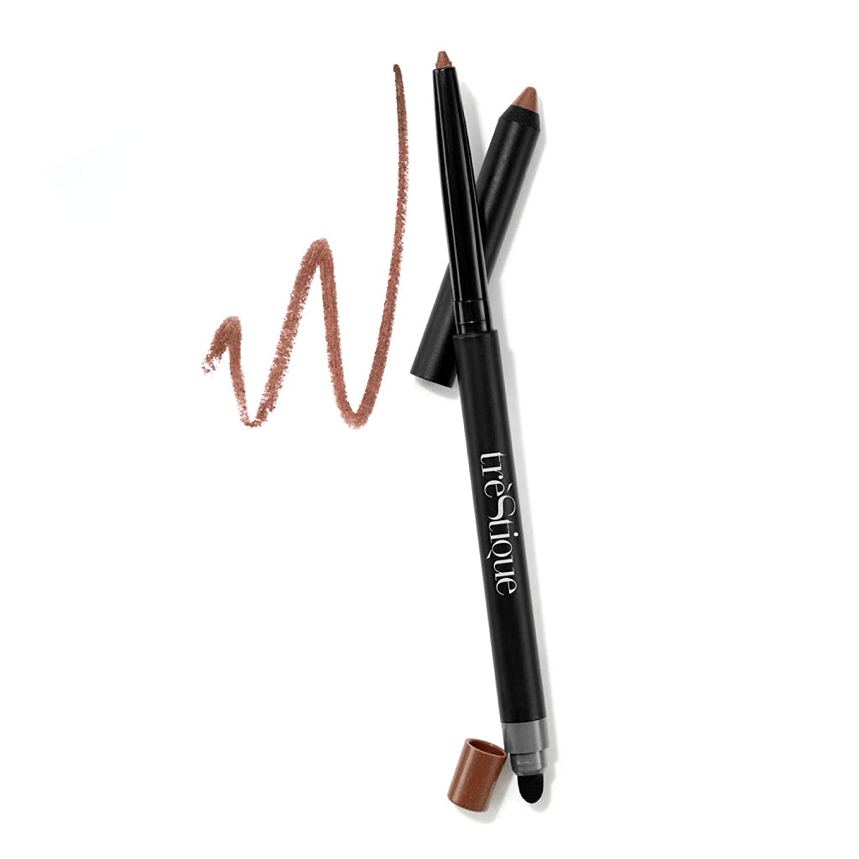 treStiQue Eye Pencil, Eyeliner Pencil With Built-In Eye Liner Sharpener and Smudger, Eye Makeup