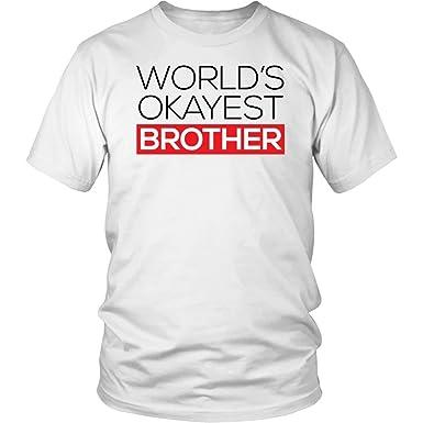 Amazon Worlds Okayest Brother Shirt