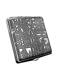 [BLACK Egypt] Fashion Durable Nobility Men's Cigarette Case Cig Holder Box