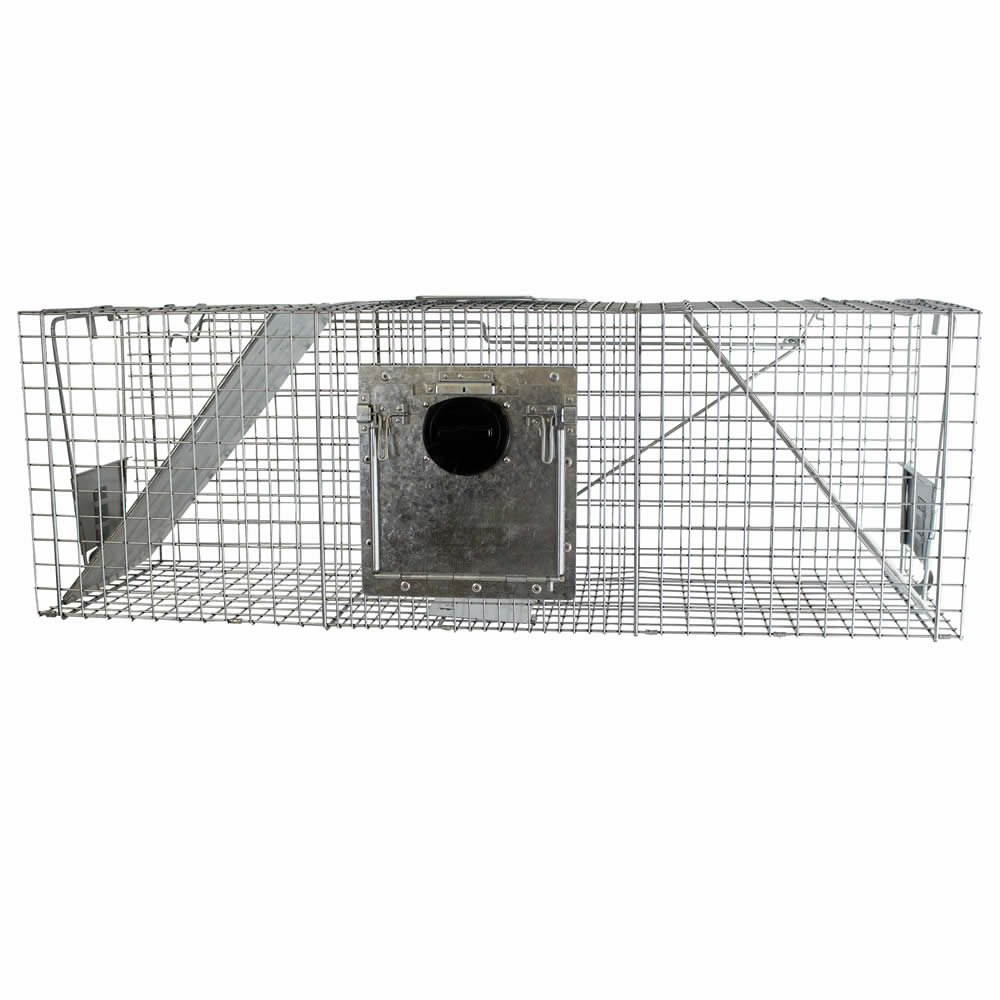 Havahart 998 Large 2-Door Safe Release Humane Live Animal Cage Trap for Raccoons, Opossums, Groundhogs