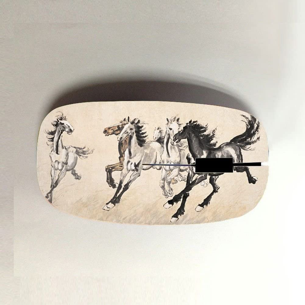 Babu Building para Mujeres Leve Abdominales Usar para Wireless Mouse con Asian Horse Artists