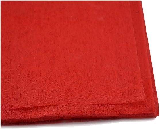 10 hojas de papel de algodón para envolver ramo de flores, material de embalaje de regalo de Navidad, papel de decoración de boda, poliéster, rosso, talla única: Amazon.es: Hogar
