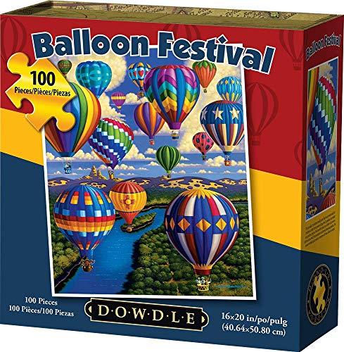 Dowdle Jigsaw Puzzle - Balloon Festival - 100 Piece
