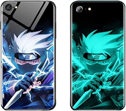 WYSJK Coque de Telephone, Call Light Luminous Phone Case,LED Anime Manga Comic Theme Case Coque de Telephone,Remplacement pour Apple Iphone 11 Pro Max ...