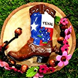 3D Refrigerator magnet Texas Boots America Flag Gift  and  Souvenir