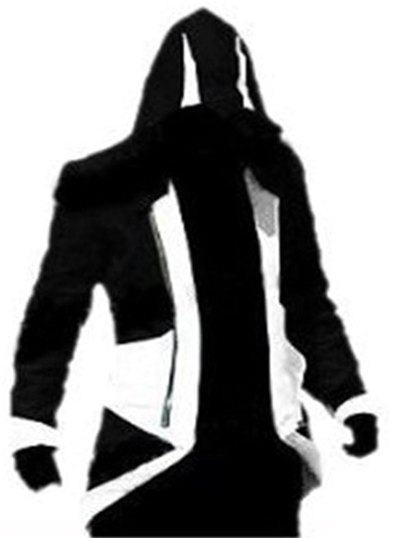 Multi-colore, In cotone di alta qualità Jeans Righello Assassin's Creed Cosplay Unity-Giacchetto 3 Connor Kenway Cosplay-Giacca con cappuccio, impermeabile, di alta qualità, In cotone, colore: blu Jeans SN-20