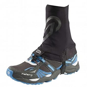 DECATHLON KALENJI Trail Running polaina negro