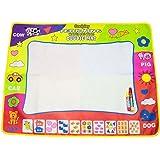 "Aqua Doodle Mat,Coolplay 4 Color Children Water Drawing Mat Board & Magic Pen Doodle Kids Educational Toy Gift 31.5"" x 23.62"""