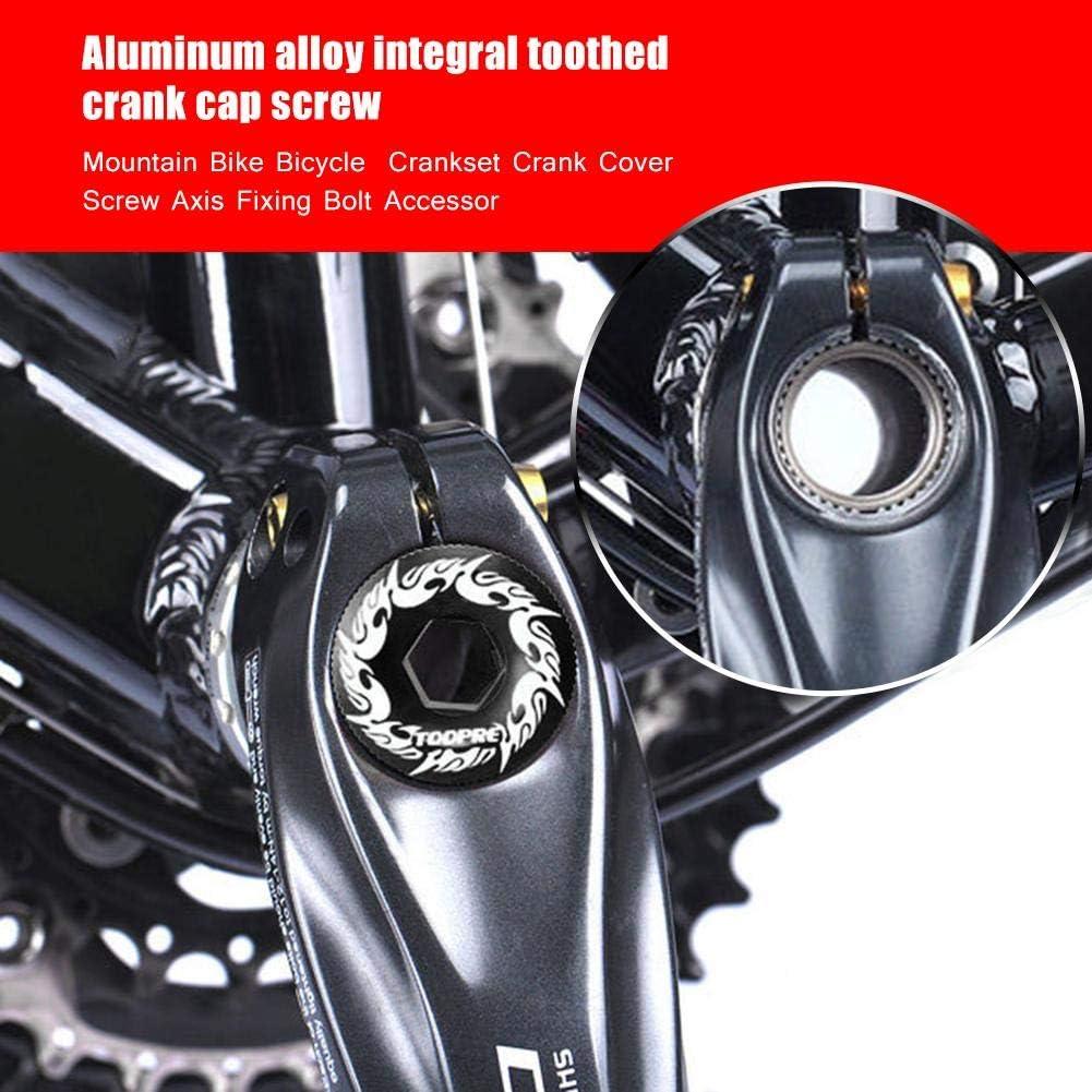 MountainBike M20 Cranksets Crank Arm Screws Aluminums Axis Fixing Bolt Access TO