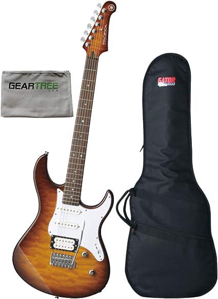 Yamaha PAC212VQMTBS - Guitarra eléctrica con paño de pulido ...