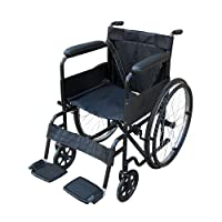 Pandamoto Wheelchair Puncture Resistant Self Propel Folding Portable Propelled Wheel chair
