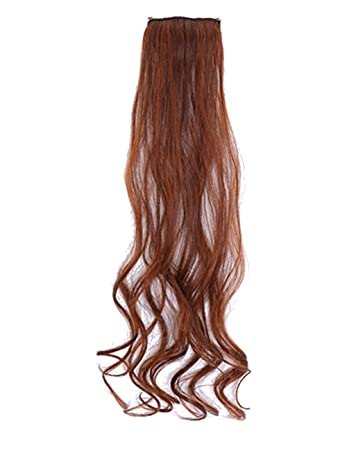 Amazon.com : THEE 5 Pcs Set 19.7 Inch Pelucas Rizadora Larga Clip Extensiones : Beauty