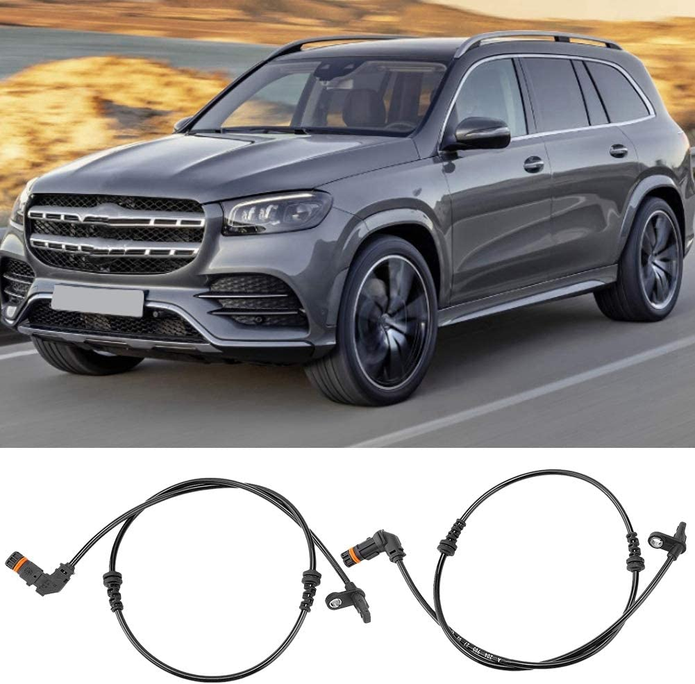 2049052705 Front Left Right Wheel ABS Speed Sensor Automotive ABS Wheel Speed Transducer Wiring Harness Speed Detector Direct Replacement Sensor Fits for Mercedes-Benz