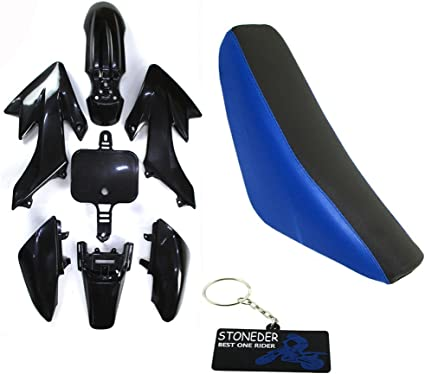 BLUE Plastics Guard STICKER SET XR50 CRF50 110cc 125cc PIT PRO Trail Dirt Bike