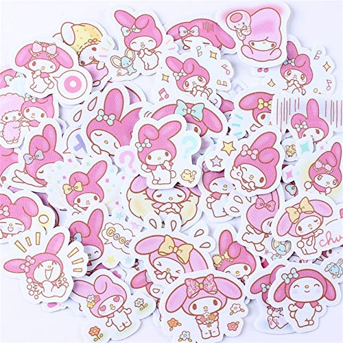 40pcs Creative Cute Kawai self-Made My Melody Scrapbooking Stickers/Decorative Sticker/DIY Craft Photo Albums