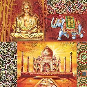 Decoupage Paper Napkins Serviettes With India Orient