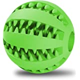 Toy Ball for Dogs,5ivepets Tooth Cleaning Rubber Ball Dog Toys to Chew Fetch for Puppies Small to Large Dogs Indestructible Ball for Chewers
