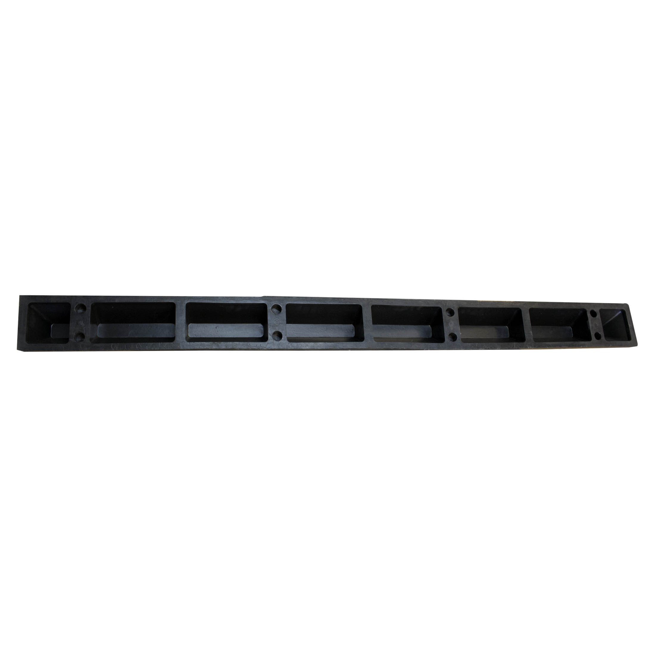 RK-BP72 Heavy Duty Rubber Parking Curb, Parking Block, 72 -Inch for Car, Truck, RV and Trailer Stop Aid by RK (Image #3)