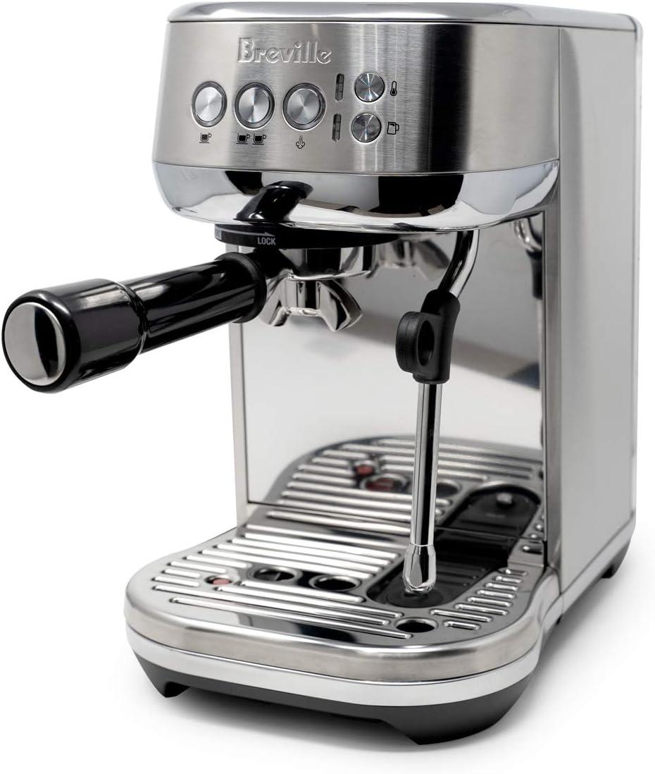 Breville Bambino Pro BES500 - Máquina de espresso semiautomática compacta con portafiltro de 54 mm y cesta doble: Amazon.es: Hogar