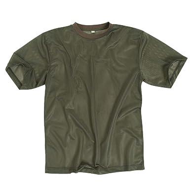 205c6abac22 Mil-Tec T-Shirt Mesh Olive size S