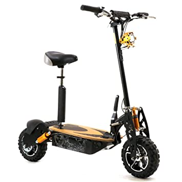 Patinete eléctrico modelo Chaos Sport, de ruedas grandes, 48 ...