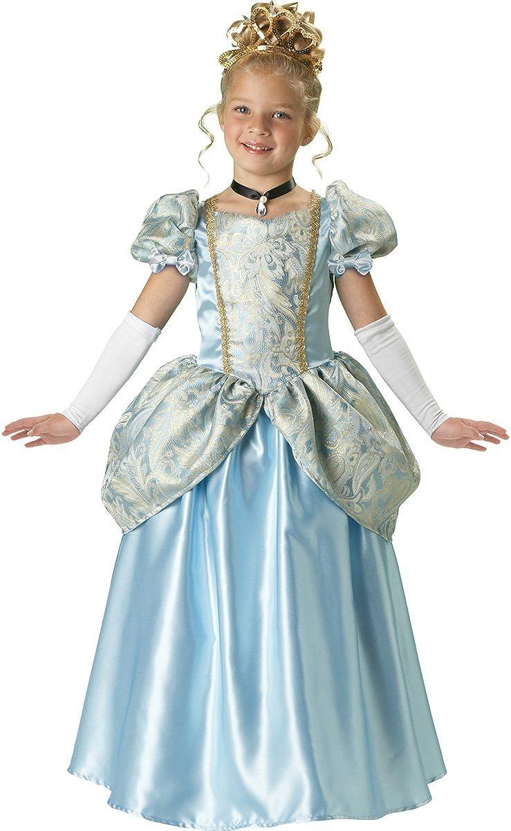 Amazon Com Incharacter Costumes Llc Girls 7 16 Enchanting Princess Ball Gown Set Light Blue 10 Clothing