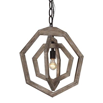 rustic chic chandelier diy docheer 1light rustic metal wood chandelier shabby chic chandeliers wrought iron wooden light amazoncom