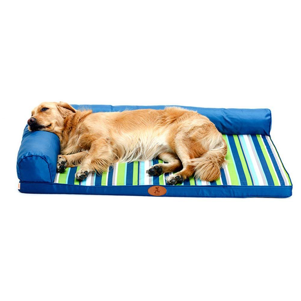 Washable Oxford Dog bed, Non-skid Durable Sponge padded, Removable cover, Pet nest-B XS