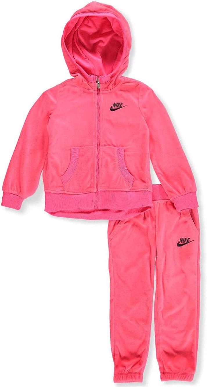 2-Piece Sweatsuit - Racer Pink, 4t