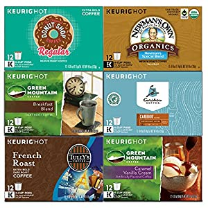 Green Mountain Variety Pack, Keurig K-Cups, 72 Count by Green Mountain Coffee