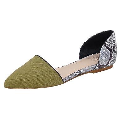 53c09e661ca7 ANDREW STEVENS Dakota Fabric Leather D Orsay Ballet Flat Shoes for Women
