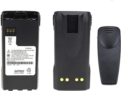 2100mAh NTN9815 NTN9858 NI-MH Battery for MOTOROLA XTS1500 XTS2500