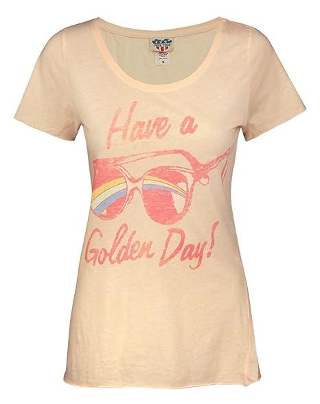 Amazon.com: Comida chatarra Have A dorado Day – playera para ...