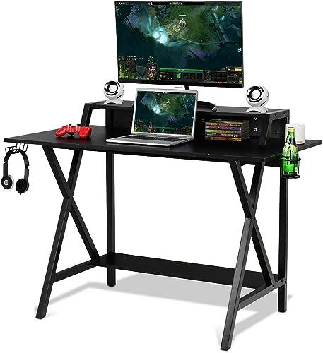 Tangkula Gaming Computer Desk - a good cheap modern office desk