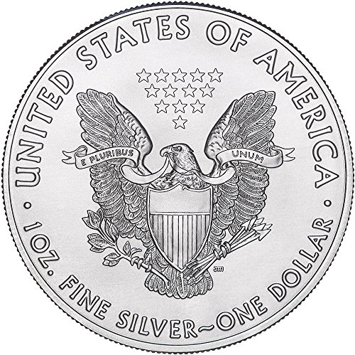 Large Product Image of  2018 American Silver Eagle with capsule $1 Brilliant Uncirculated US Mint with a Custom Gift Box