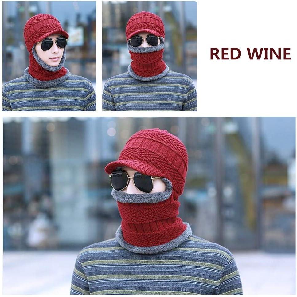 ACHICOO Bonnet tricoté pour Hommes, Sports de Plein air, Sports de Plein air Solid color - coffee