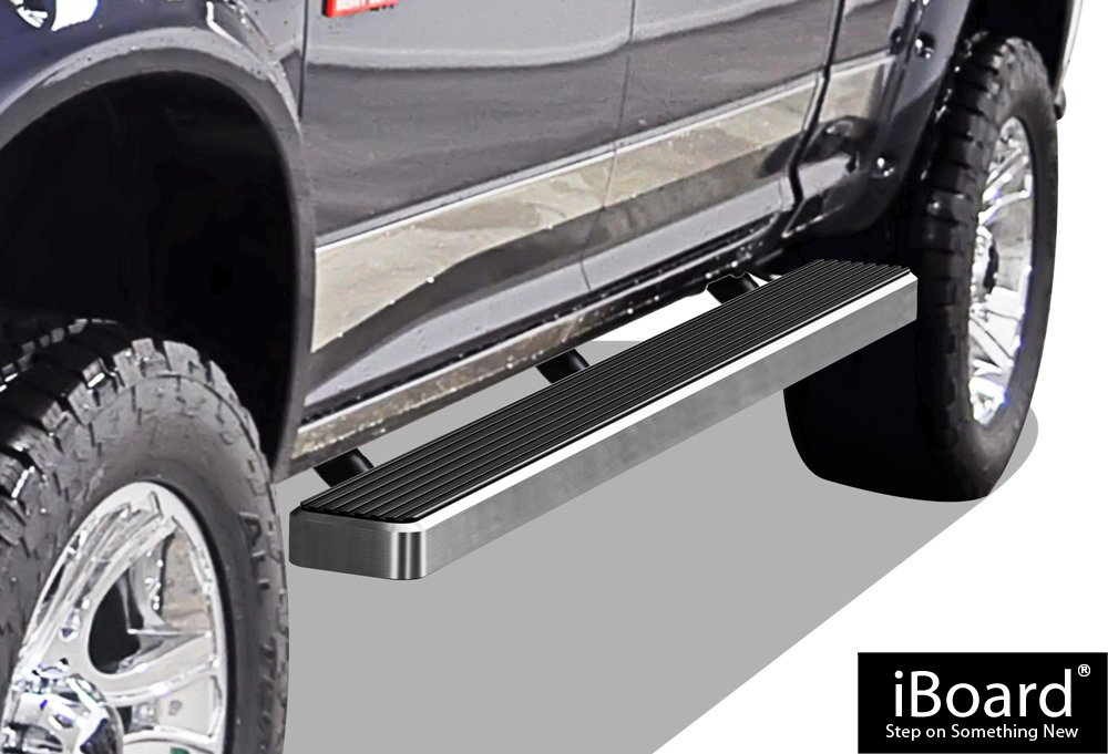 iBoard Running Boards Style Custom Fit 2009-2018 Dodge Ram 1500 Crew Cab Pickup 4-Door /& 2010-2018 Ram 2500 3500 Nerf Bars | Side Steps | Side Bars