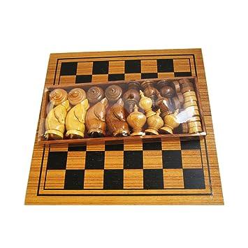 Amazon.com: Makruk Thai Chess Set Vintage Board and Pieces Wood Box ...