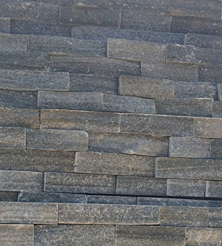 Natural Stone Stacked Wall Siding  Slate  Timber Ledge