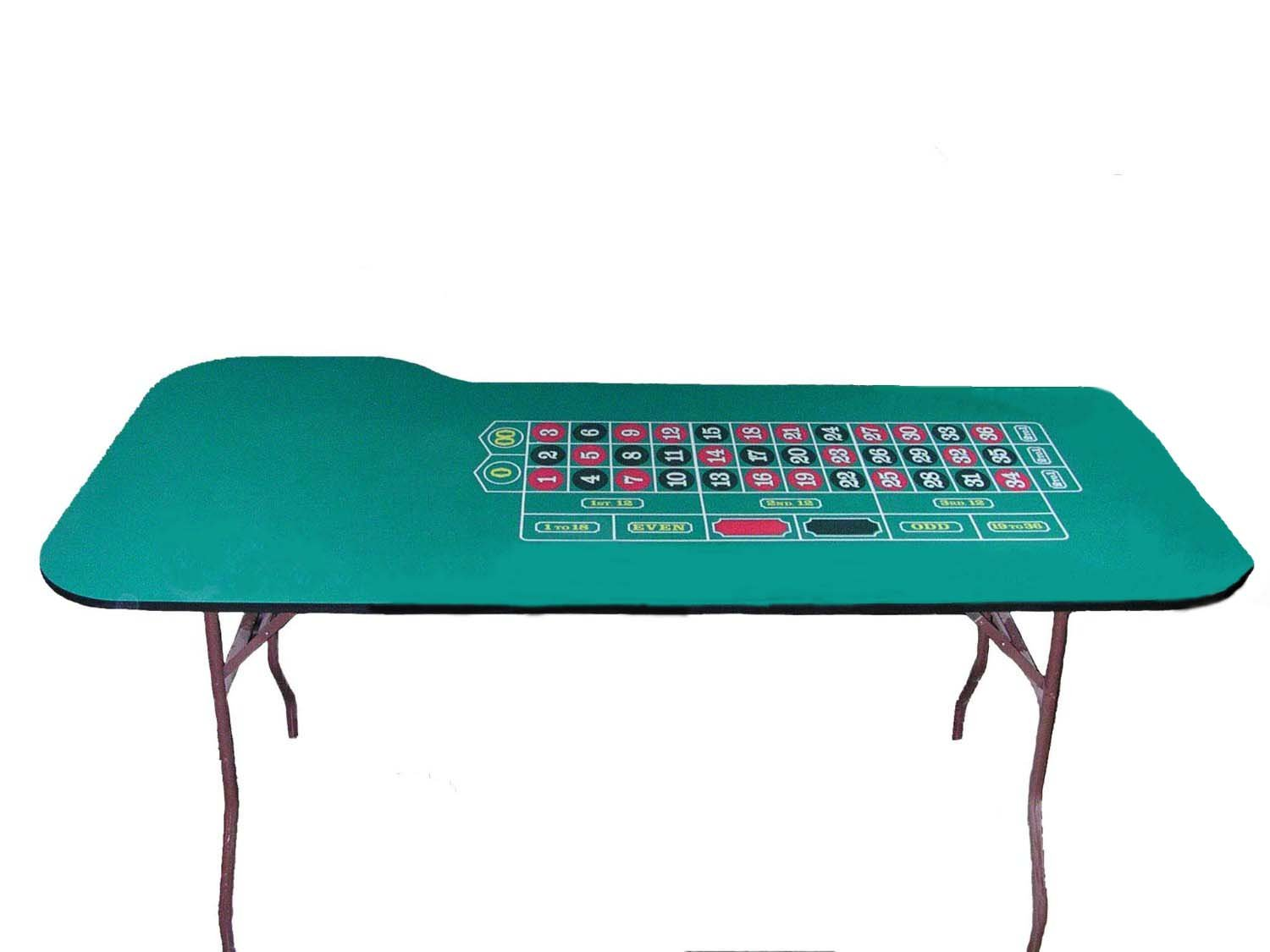 84 Inch Professional Roulette Table - Made in the USA