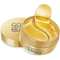 Oogmasker, oogpads, anti-aging pads, collageen masker, 24k goud collageen oogmasker, oogverzorging met hyaluron…