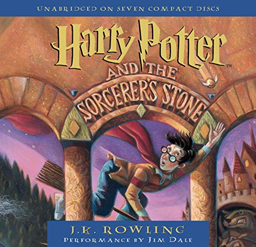 Harry Potter and the Sorcerer's Stone (Book 1 Audio CD) by Brand: Listening Library