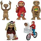TOMY E.T. l'extra-terrestre Set Complet 5 Figures Collection 6cm Original Gashapon Japon