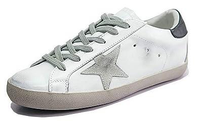 Scarpe da Ginnastica Bianco Basse Corsa Sportive Scarpe da
