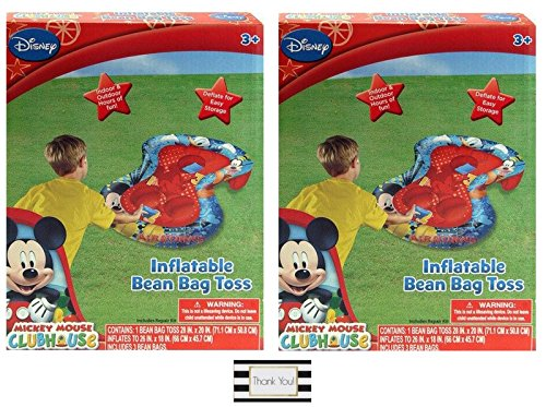 Junior Club Chair (Mickey Mouse Clubhouse Inflatable Bean Bag Toss Game (Outdoor/Indoor Toys & Games) - 2 Pack)