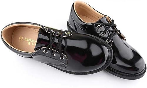 Amazon.com: F-OXMY Zapatos de vestir para niños con cordones ...
