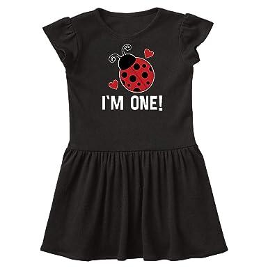 50710eb30 Amazon.com: inktastic - First Birthday Ladybug 1 Year Old Toddler Dress  33747: Clothing